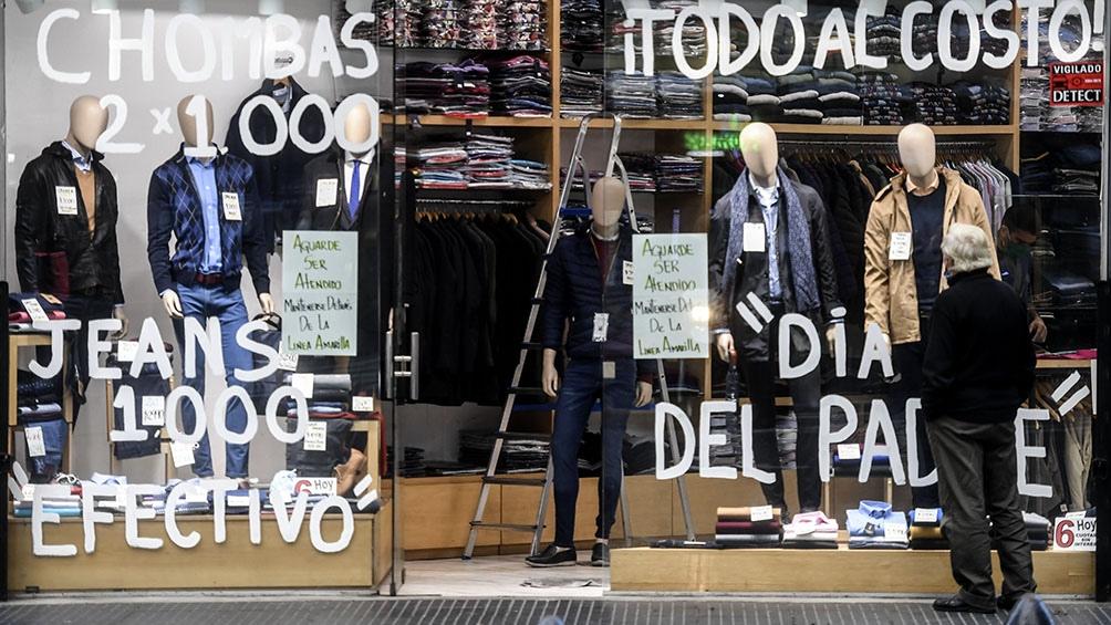 Las ventas minoristas en abril crecieron 40,8% anual