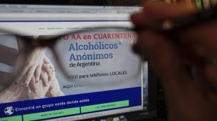 Las terapias para personas en situación de consumo problemático no sueltan la mano en la pandemia