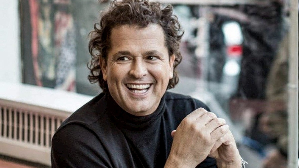 El colombiano Carlos Vives