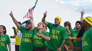 Partidarios de Bolsonaro volvieron a pedir un golpe contra el Congreso y la justicia