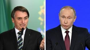 Bolsonaro mantuvo una conversación con Putin sobre la pandemia y la cumbre del Brics