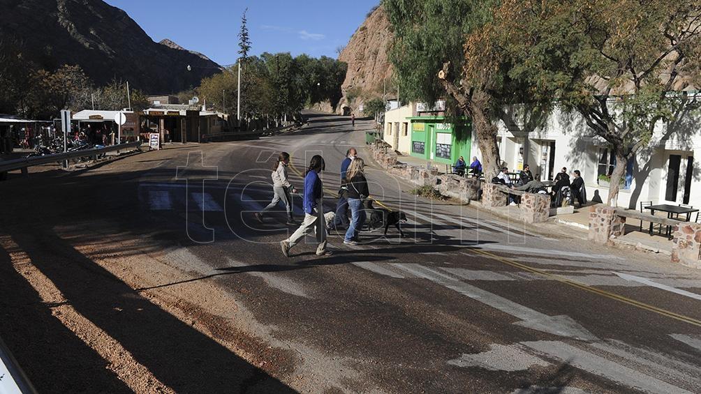 Los movimientos sísmicos se sintieron en las zona de Potrerillos