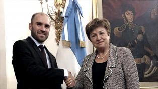 Guzmán viaja a Washington a mediados de marzo en el marco de negociaciones con el FMI