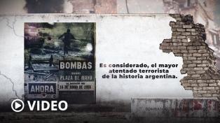 """Familiares de víctimas del bombardeo a Plaza de Mayo de 1955 realizaron """"conmemoración virtual"""""""