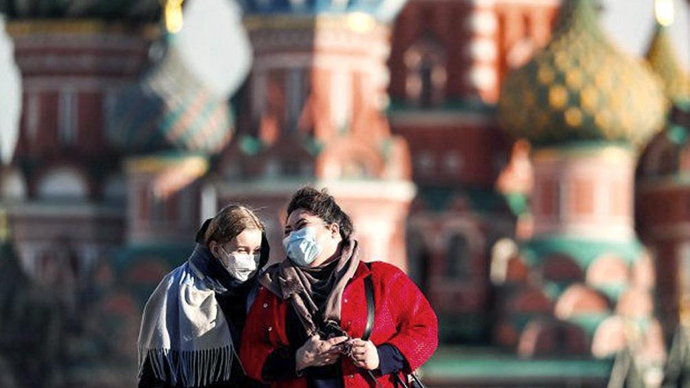 Moscú es el epicentro de los nuevos casos