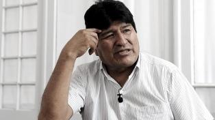 Evo Morales dijo que volverá a Bolivia si su candidato Arce gana las elecciones
