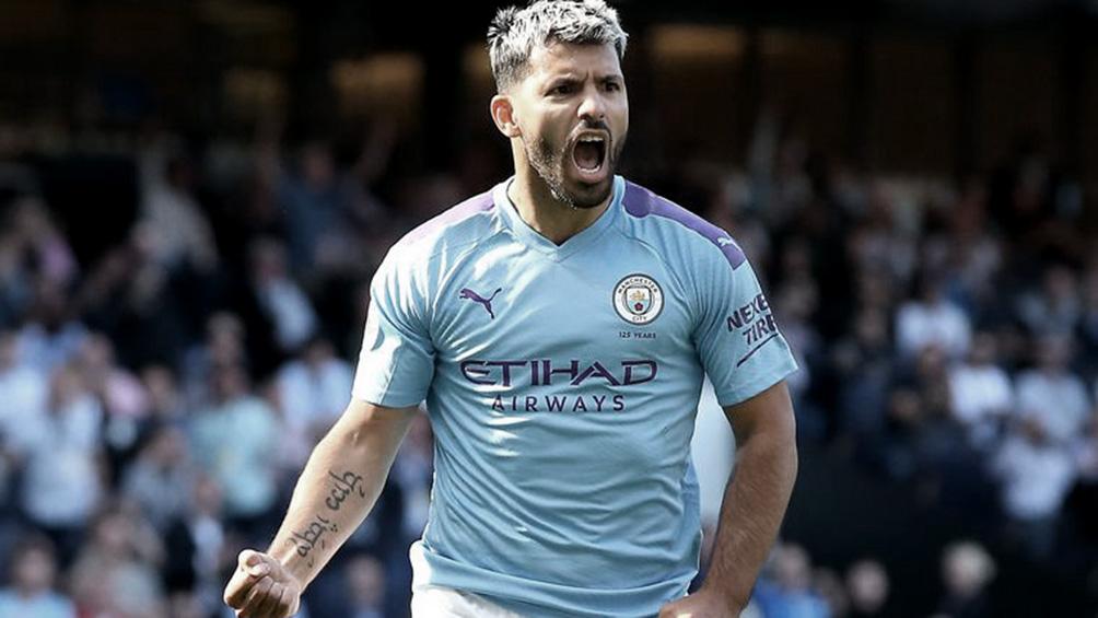 Manchester City, con el Kun Agüero, cierra la fecha de local ante el Burnley