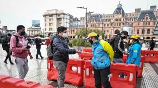 Cerca de 400 agentes de tránsito controlan centros de trasbordo, subtes y colectivos en la Ciudad