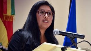 """El Parlamento boliviano abre un proceso por """"daño económico"""" contra Áñez"""