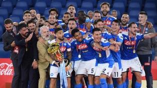 Nápoli le ganó por penales a la Juventus y es campeón
