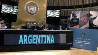 Argentina fue elegida para integrar el Consejo Económico y Social de la ONU