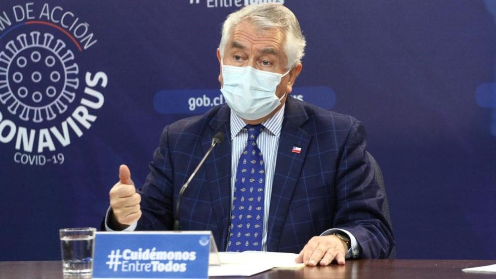 El ministro de Salud anunció que ya se han vacunado 8.649 profesionales