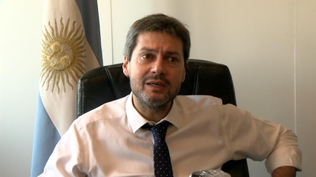Matías Lammens, ministro de Turismo y Deportes.