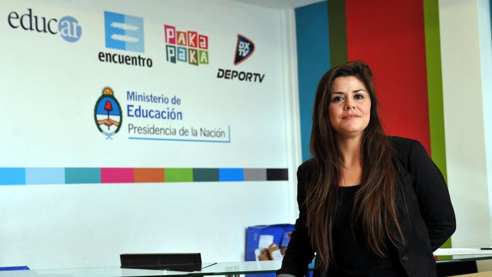 Jesica Tritten, gerenta general de Contenidos Públicos SE.