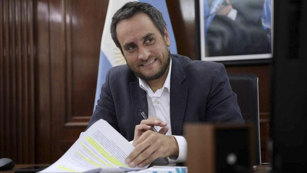 ministro de ambiente, Juan Cabandié