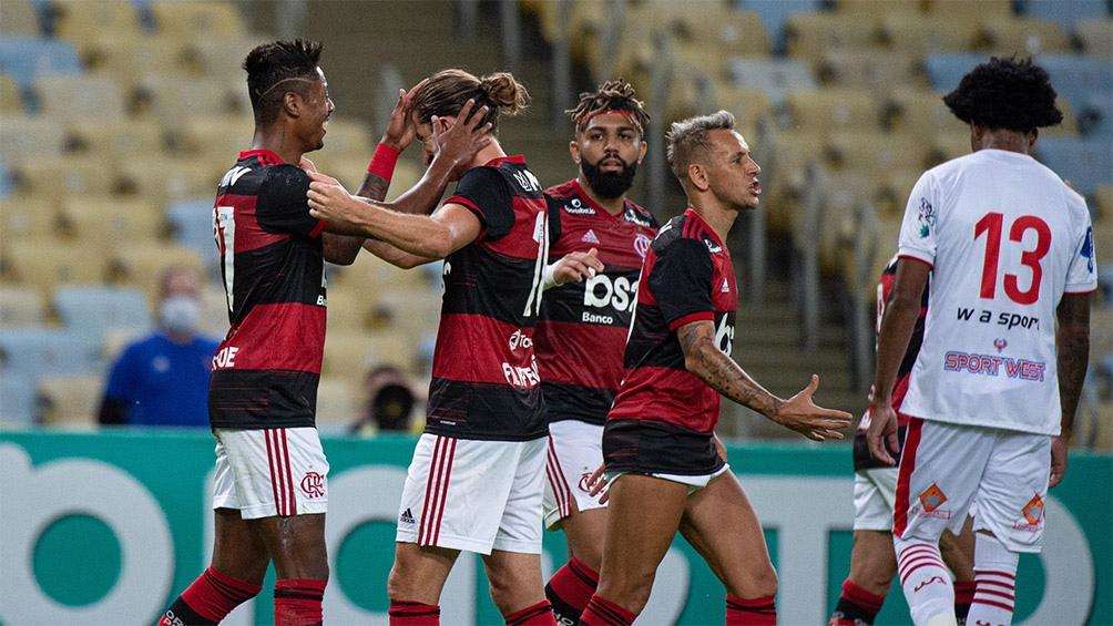 Brasil: goleada del campeón Flamengo