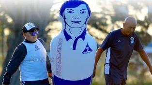 Maradona agradeció a los jugadores de Gimnasia por cuidarse del coronavirus