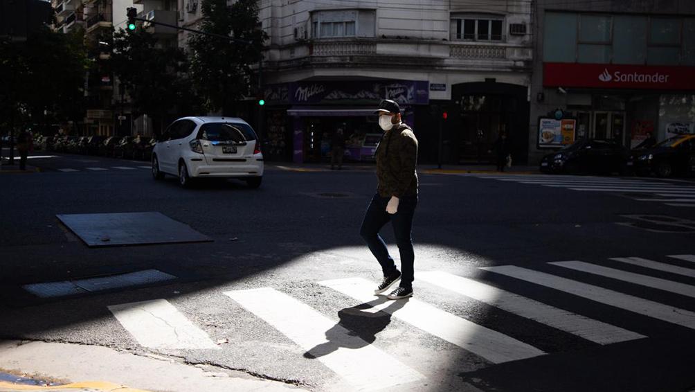 La ciudad de Buenos Aires reportó 541 nuevos casos y ascienden a 389 los fallecidos