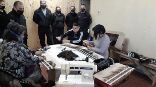 Desde la cárcel, confeccionaron pelucas para pacientes oncológicos