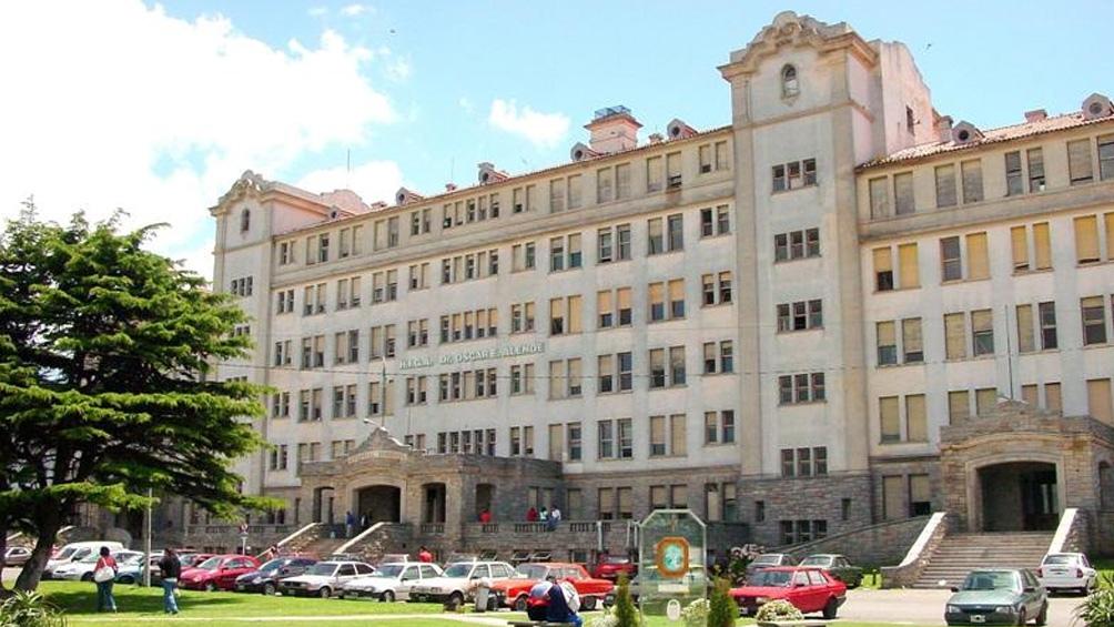 El Hospital Interzaonal de Agudos donde se le practicó la cesárea a la víctima.