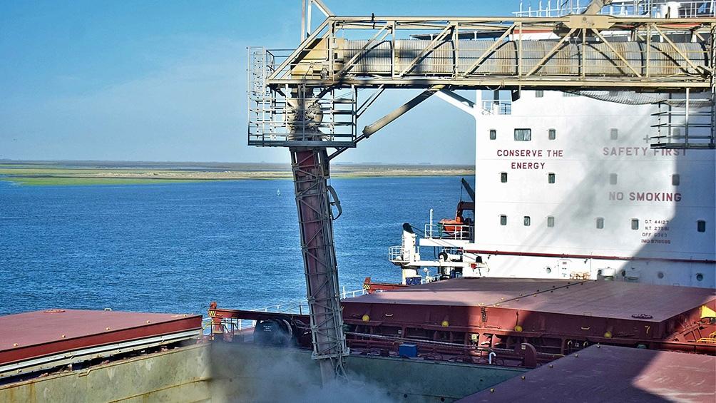 Los nodos portuarios de Rosario y Bahía Blanca son complementarios, básicamente granos