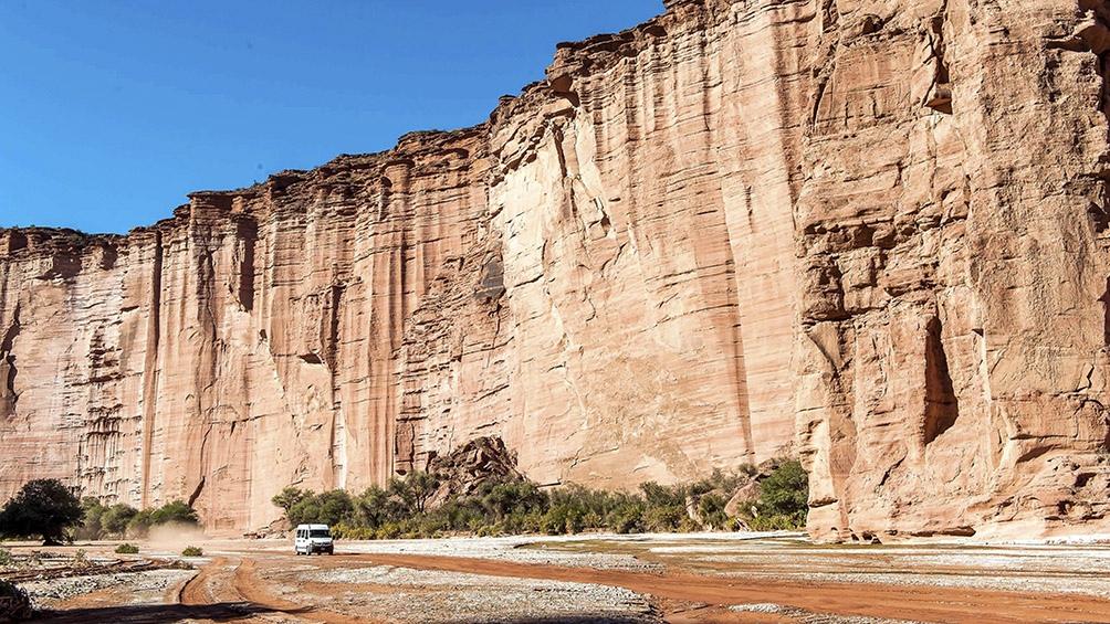 El Parque Nacional Talampaya ya tuvo una breve apertura a fines de julio