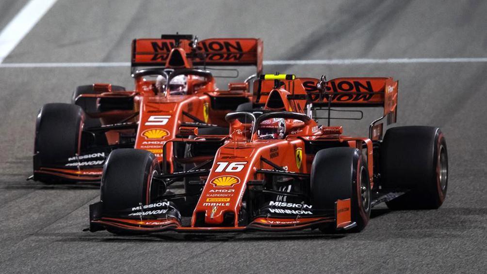 Ferrari suma otro desastre en Italia con abandono de Vettel y accidente de Leclerc