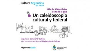 Cultura Argentina en Casa: más de 300 artistas comparten su arte