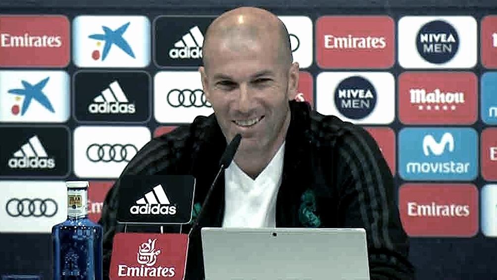 Zidane prefirió no pronunciarse
