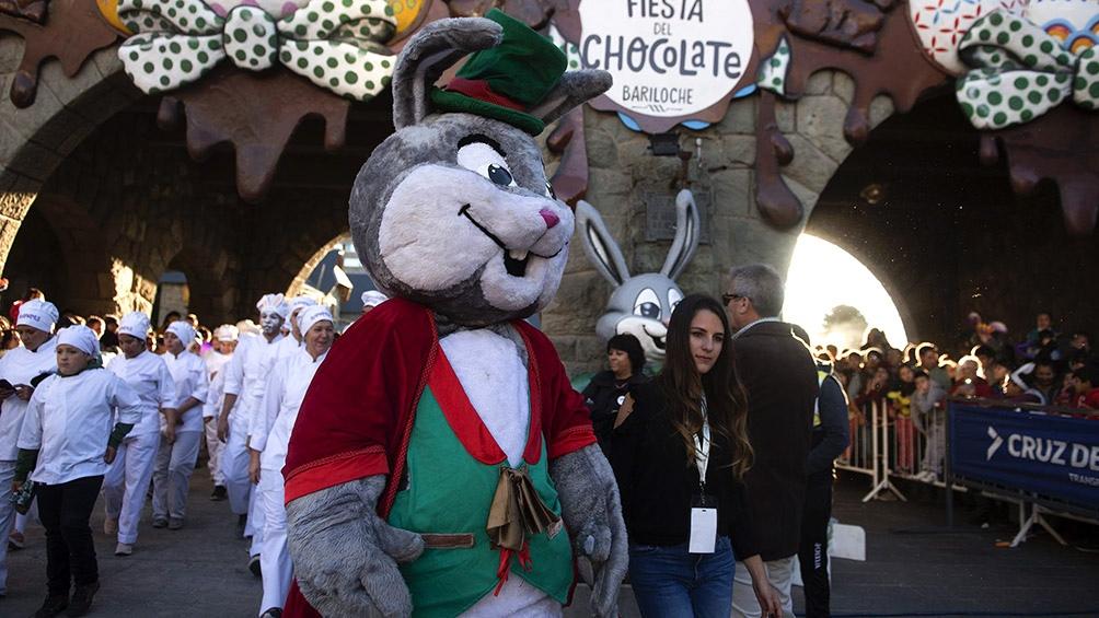 Fiesta nacional del chocolate, San Carlos de Bariloche.