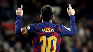 La AFA y el Barcelona saludaron a Messi en su cumpleaños