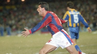 """""""Después de la Libertadores, no hay nada más importante que el campeonato del '95"""""""