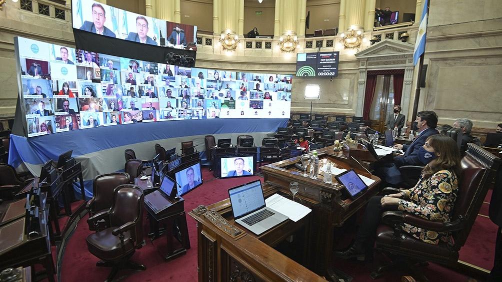 El Senado se prepara para el debate de la ley de Teletrabajo y la ...