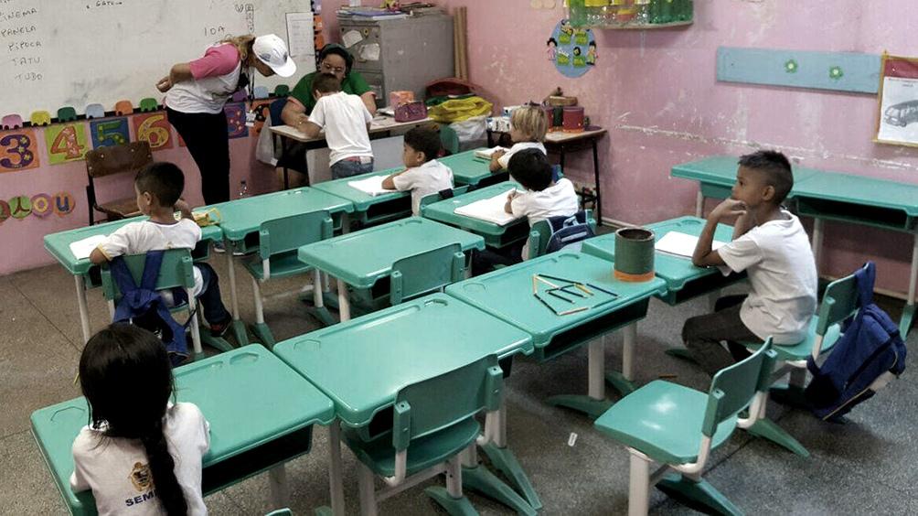 San Pablo es uno de los estados en los que los alumnos volverán a las escuelas.