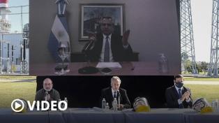 """Alberto Fernández: """"En no mucho tiempo más la economía va a funcionar a pleno"""""""