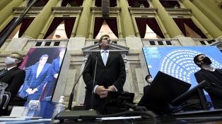 """Massa: """"El endeudamiento fue una decisión política para ayudar a la reelección de Macri"""""""