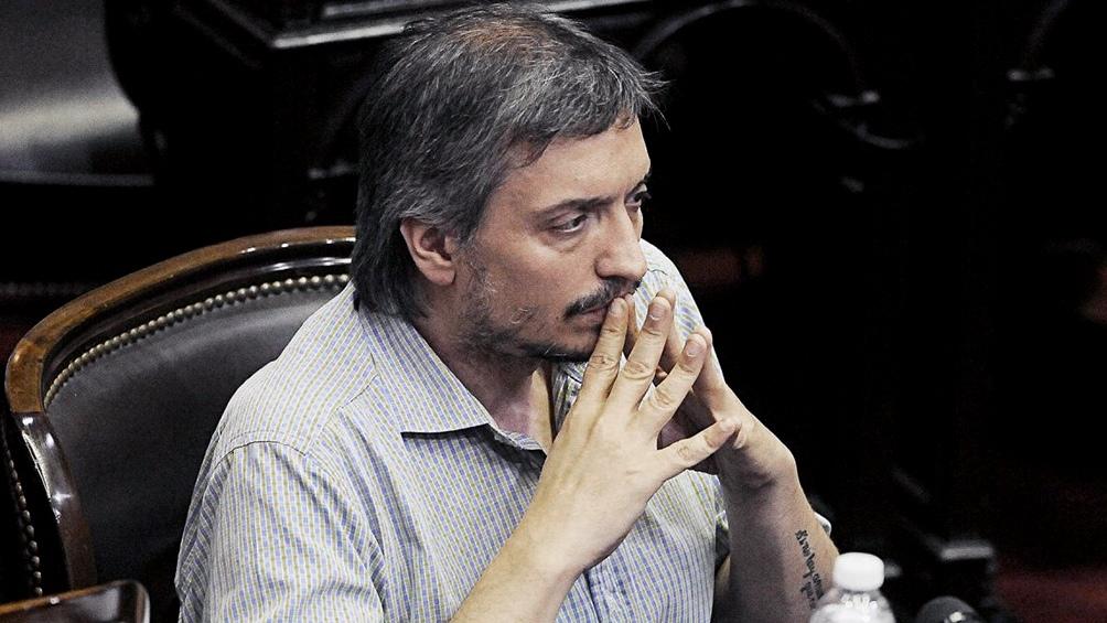 Máximo Kirchner, titular de la bancada del Frente de Todos