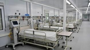 La ocupación de camas de terapia intensiva ronda el 52% y hay hospitales con el 85%