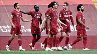 Liverpool derrotó al Chelsea en un festival de goles