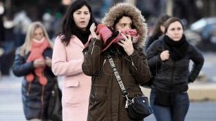 Se espera que sigan bajando las temperaturas en el centro del país