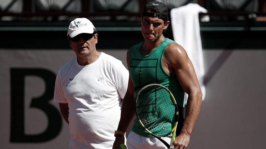 Toni Nadal es el principal responsable de la dedicación al tenis de su sobrino Rafael.