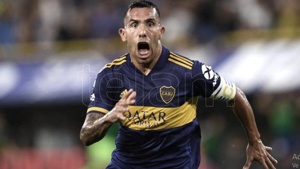 Tevez, capitán, goleador y emblema de Boca.