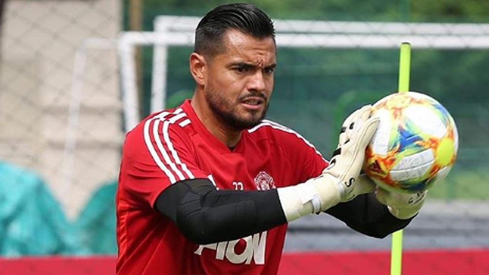 """Manchester United, con """"Chiquito"""" Romero en el arco, busca la semifinales (foto: IG Sergio Romero)"""