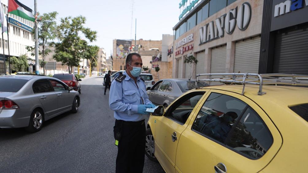 Los controles se incrementaron en Palestina.