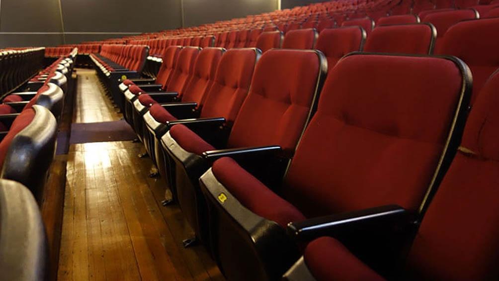 Teatro El Galpón, en Montevideo