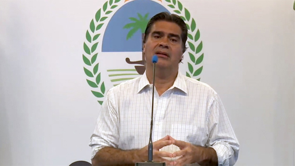 El gobernador Capitanich recordó que la legislación electoral no puede modificarse en el año mismo de los comicios, por lo cual hay que hacerlo antes de fin del 2020.