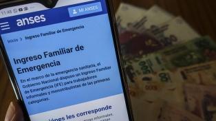 Piden extender a todas las provincias el pago del Ingreso Familiar de Emergencia