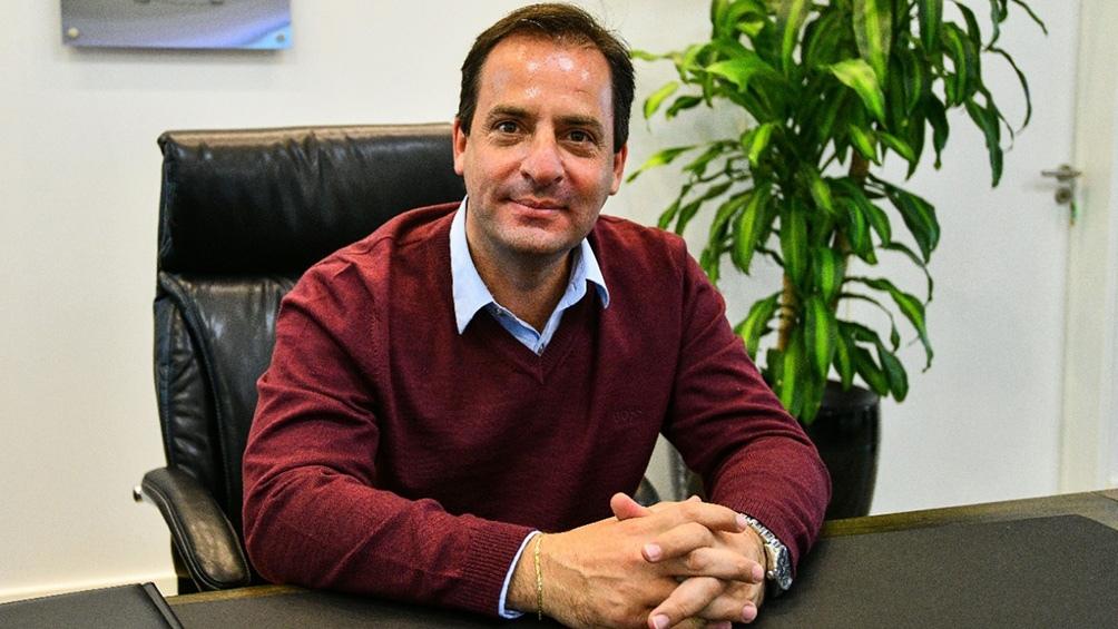 El jefe comunal de Escobar, Ariel Sujarchuk