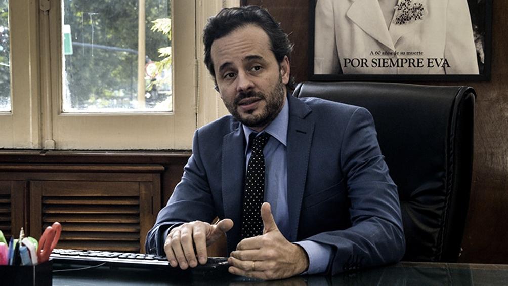 El subsecretario de Pesca Carlos Liberman explicó el proyecto tras una reunión con Alberto Fernández.