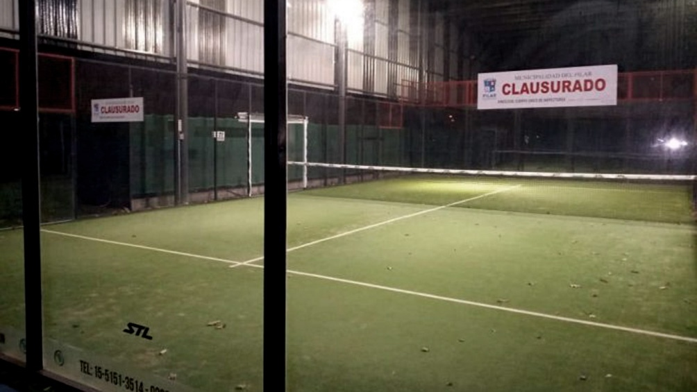 El club Pilar, donde se disputó el torneo clandestino.